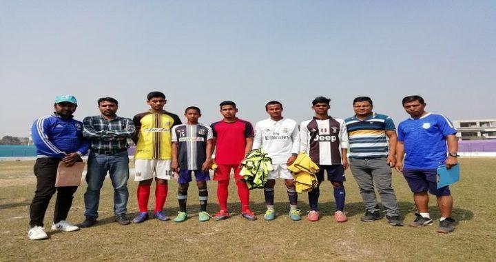 বাফুফে'র বয়সভিত্তিক বাছাইয়ে নজর কাড়লেন নরসিংদীর ৭ ফুটবলার