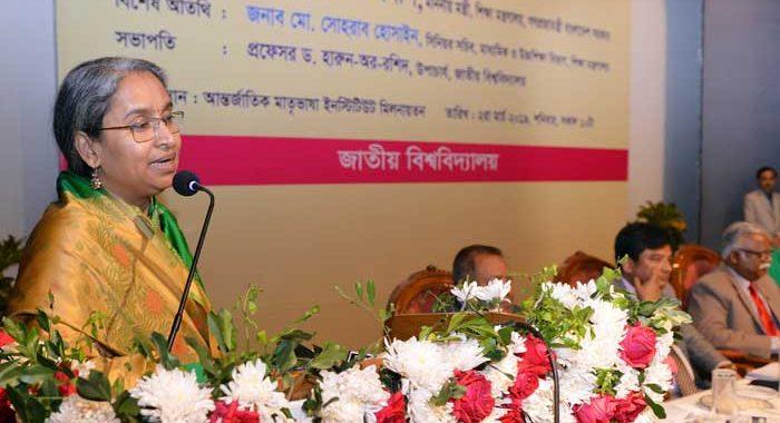 জাতীয় বিশ্ববিদ্যালয় এখন দ্রুতগামী ট্রেন: দীপু মনি