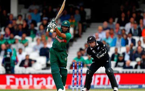নিউজিল্যান্ডের বিপক্ষে ২৪৪ রানে অলআউট হয়েছে বাংলাদেশ