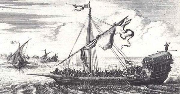 প্রথম মুসলিম নৌবাহিনী কখন কোথায় কীভাবে গড়ে উঠেছিল