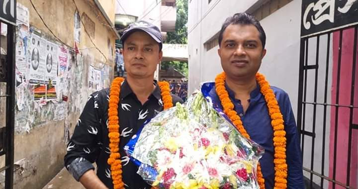 নরসিংদী প্রেসক্লাব নির্বাচনে মাখন সভাপতি, মন্টি সাধারন সম্পাদক হিসেবে বিজয়ী