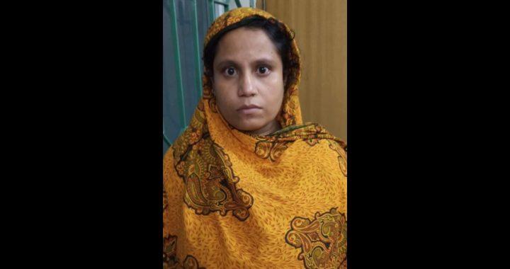 নরসিংদীতে ইয়াবাসহ নারী মাদক ব্যবসায়ী আটক