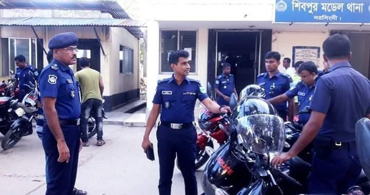 লবন নিয়ে গুজব প্রতিরোধে শিবপুরে আইনশৃঙ্খলা বাহিনীর বিশেষ নজরদারি
