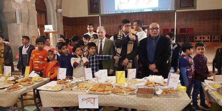 বার্সেলোনায় বাংলা স্কুলে পিঠা উৎসব
