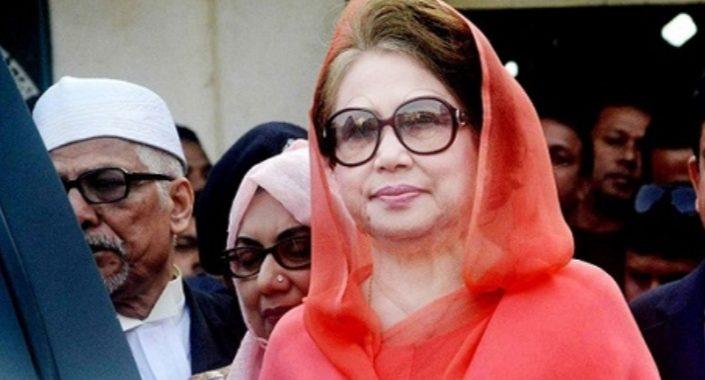 সাজা স্থগিত, মুক্তি পেলেন বেগম খালেদা জিয়া